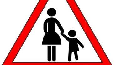 Vorsichtschild Mutterschutz