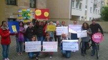 27.05.2015: Kreativworkshop unserer Fürther KollegInnen für Frankfurt