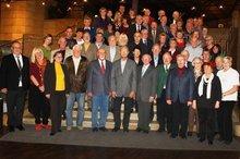 Jubilarehrung 2014 beim ver.di OV Fürth am 19. November 2014