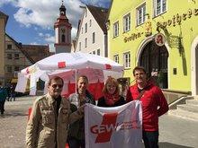 18.04.2015: Infostand zu TTIP in Weißenburg