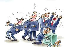 Kapitalisten in Panik