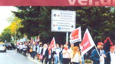 Kundgebung zur Krankenhausreform