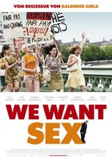 "Filmplakat ""We want sex - made in Dagenham""