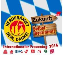 Internationaler Frauentag 2016 - Flyer