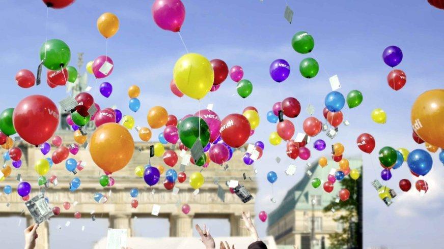 ver.di Luftballons