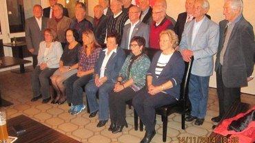 Foto von der Jubilarehrung Schwabach 2014