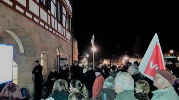 Zur Reichsprogromnacht Schwabach 2016