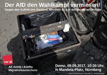 Der AfD den Wahlkampf vermiesen