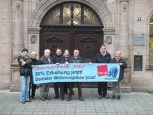 171116_Protestaktion Erwerbslose Rathaus