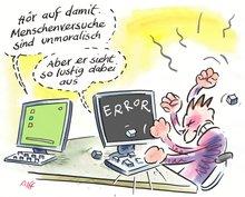 Menschenversuch Digitalisierung