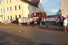 Streikversammlung betreisbamt + Bezirksklinikum Ansbach