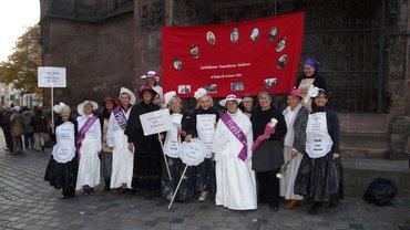 "Stadtrundgang ""Frauenrechtlerinnen des Frankenlandes"""