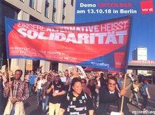 Bild von Demo am 13.10.18 in Berlin