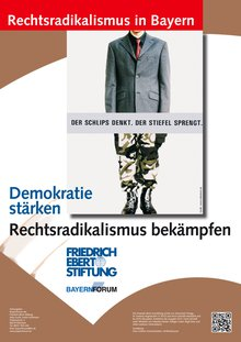 Bild von Friedrich Ebert Stiftung zur Ausstellung: Rechtsradikalismus in Bayern