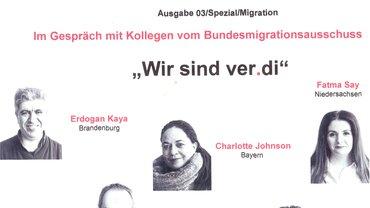 Bild von Kolleginnen vom Bundesmigrationsausschuss