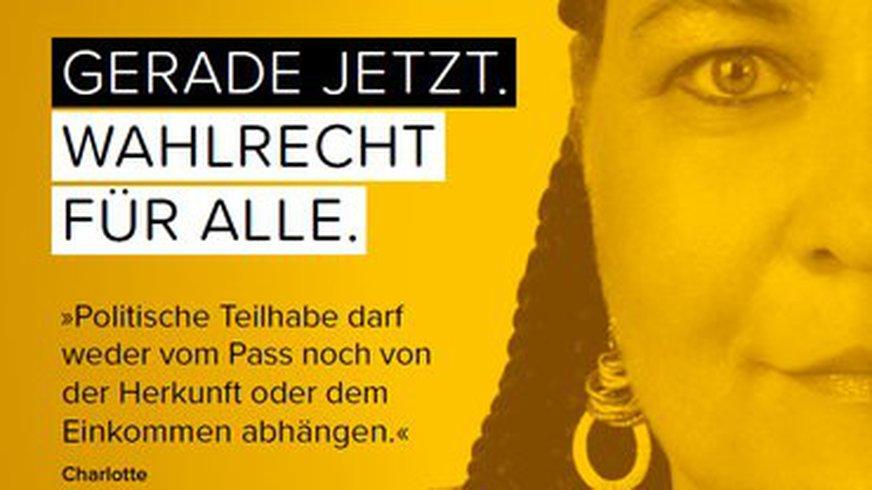 Bild der ver.di Wahlrechts-Initiative