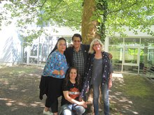 BMA-Präsidium: Hussein, Emilija, Charly und Fatma