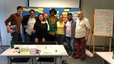 Foto von Kollegen von Mittelfranken und BMA