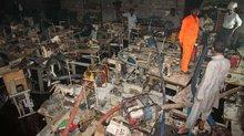 Fabrikbrand bei Ali Enterprises