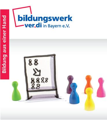 Logo Broschüre ver.di aktiv im Betrieb