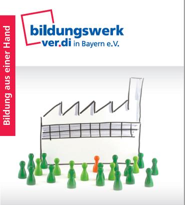 Logo Broschüre Roboter Konkurrent oder Kollege