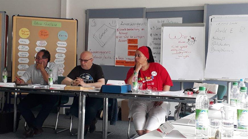 Referenten: Alexander, Wolfgang und Charly