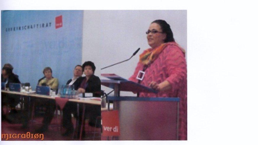 Vortrag beim Gewerkschaftsrat