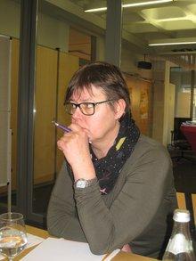 Kollegin Belinda vom MigrA Mittelfranken
