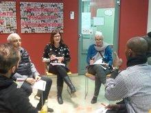 Arbeitsgruppen im Gespräch
