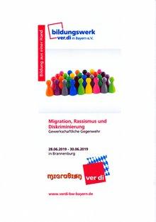 Ausschreibung Migrationsseminar: Migration, Rassismus und Diskriminierung