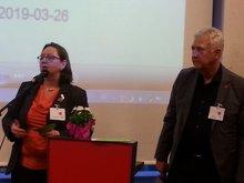 Rita und Matthias beim Neumitgliederempfang des OV-Nürnberg 2019