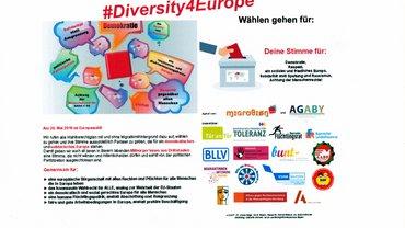 Bild von #Diversity Europe