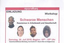 Einladungsflyer zum Workshop