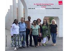 Dr. Pierrette zu Besuch beim Migrationsausschuss