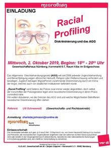 Flyer zur Infoveranstaltung am 02.10.19