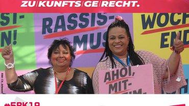 delegierte Kolleginnen vom MigrA Mittelfranken