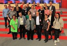 Unsere mittelfränkischen Delegierten mit Landesleitung