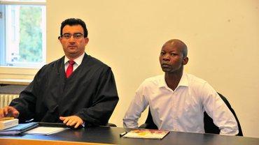Bild von der Gerichtsverhandlung