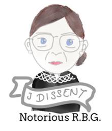 Zeichnung Ruth Bader Ginsburg