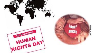 Bild zum Int. Tag der Menschenrechte