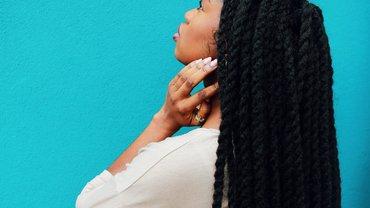 Bild einer schwarzen Frau