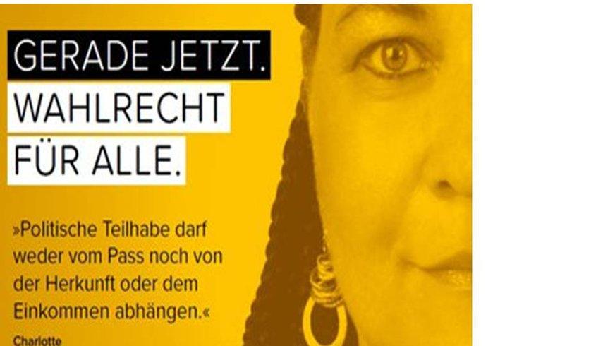 Foto aus BMA Kampagne: GERADE JETZT