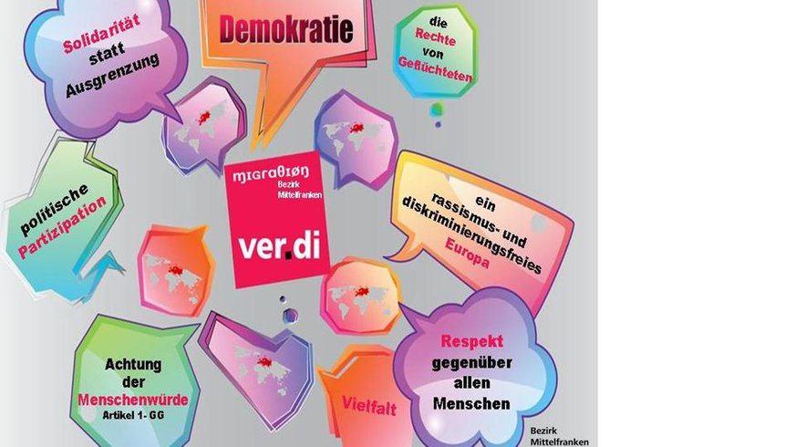 Infografik:#Diversity Mittelfranken