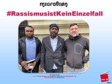 Kollege Sunday Olaniyan, Babatunde M. Toy  und Herr Demirdogen