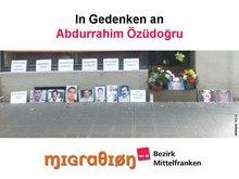 In Gedenken an Abdurrahim Özüdoğru