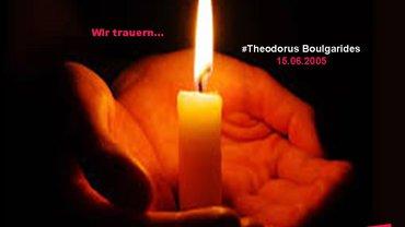 Gedenken an Theodorus Boulgarides