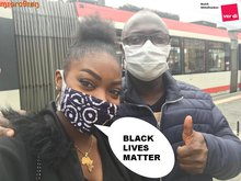 Aimè und Jennifer vom MigrA Mittelfranken