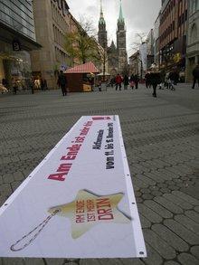 Aktionswoche vor Lorenzkirche