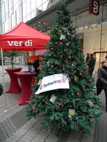 Tarifvertrags-Weihnachtsbaum