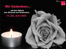 Gedenktag an die Opfer des Völkermords von Srebrenica
